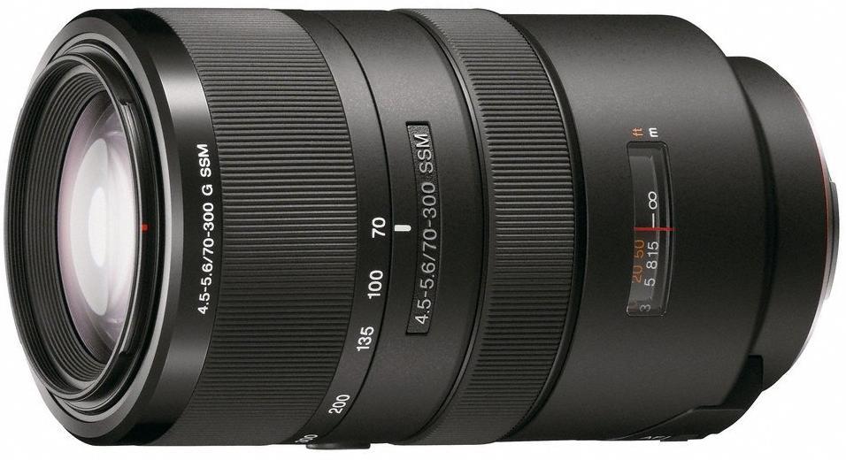 Sony Sal 70-300mm G f / 4.5-5.6 G SSM Lens