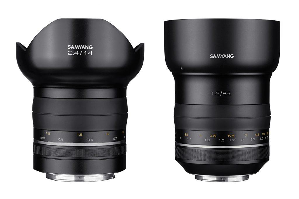 Samyang Premium XP 85 mm f/1,2