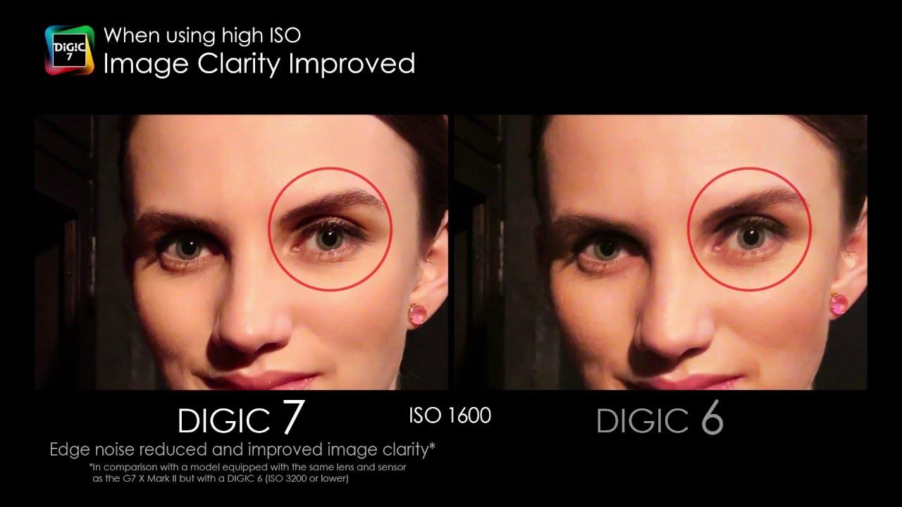 DIGIC 7 image processor