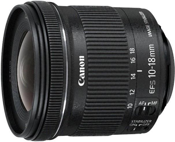 Canon EF-S 10-18mm f / 4.5-5.6 IS STM lens
