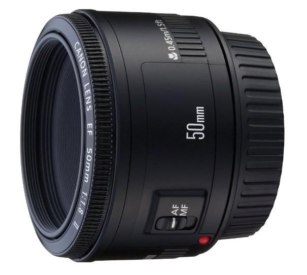 Canon 50mm f / 1.8 II lens
