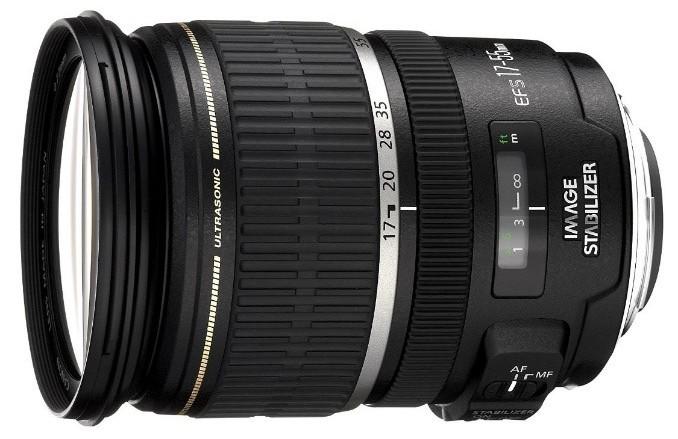 Canon lens 17-55 mm f / 2.8 EF-S IS USM