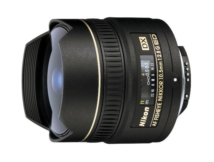 AF Fisheye Nikkor D 10.5mm f/2.8 lens