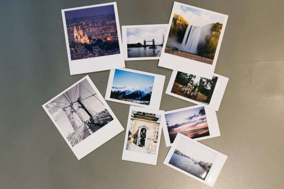 Instant photography